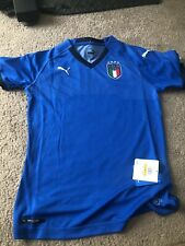 Puma FIGC Italy Womens National Soccer/Football DryCell Jersey Size XS MSRP $75