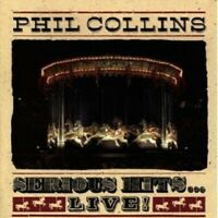PHIL COLLINS - SERIOUS HITS...LIVE CD POP 15 TRACKS NEW