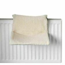 Radiator Cat Bed Fleece Lined Cushion Puppy Kitten Basket Hammock Cradle Cream