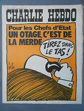 ►CHARLIE HEBDO N°95 -  SEPTEMBRE 1972 - GEBE