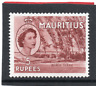 Mauritius QE2 1953-58 5r red-brown sg 305 H.Mint