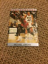 Rare Early Michael Jordan Living Legend Star Card Chicago Bulls