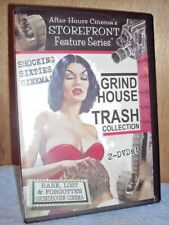 Grindhouse Trash Collection (DVD, 2007, 2-Disc Set) NEW obscure 70s cinema retro