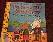 Lift-The-Flap Fairy Tales: The Three Billy Goats Gruff by Stephen Tucker (No CD)
