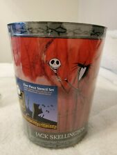 Nightmare Before Christmas Jack Skellington Bathroom Set Nib 90s/early 2000s
