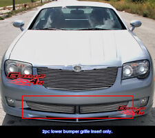 Fits Chrysler Crossfire Lower Bumper Billet Grille Grill Insert-Fits 2004-2008