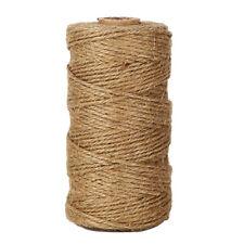 hemp rope Natural Jute Twine Best Arts Crafts Gift Twine Christmas W7D7