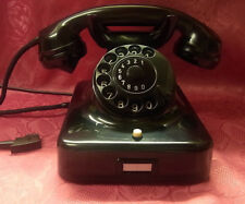 W48 altes Siemens Telefon Post Bakelit  Telephone