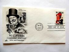 """January 29th, 1980 In Commemoration of """"W. C. Fields"""" 1st Day Issue."""