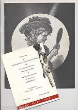 EDWARD HILL COLLAGE ART Surrealism CONCRETE POETRY  Exhibit Catalog & INVITATION