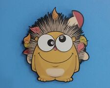 Two Eyes Little Hedgehog Cartoon Wall Clock Kids