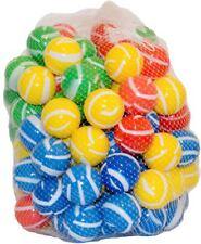100 Bälle gestreift für Bällebad, Spielbälle