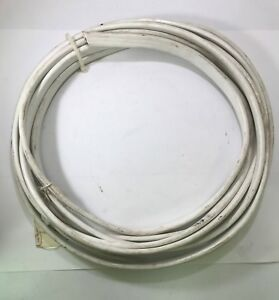 Pacer 19' White Jacket 12/3 Triplex Black/Green/White Boat Cable USA MADE
