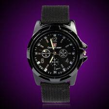 Moda Gemius Army corse forza militare Sport uomo tessuto orologio da polso watch