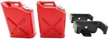 Apex RC Products 1/10 RC Rock Crawler Scale Red Jerry Gas Can Jug - 2 Pack #4052