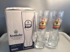 Krombacher Weizen Alkoholfrei Glas / Gläser 0,5 L im 4 er Karton