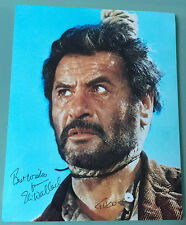 Eli Wallach signed photo The Good The Bad and the Ugly Eastwood TUCO UACC RD