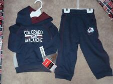 NEW NHL Colorado Avalanche 2 Piece Infant Hoodie Sweatshirt Pants 24 Mos Months