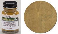 Testors CreateFX 79409 Acrylic Wash Oak 1 oz Paint