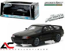 GREENLIGHT 86229 1:43 1989 NISSAN SKYLINE GT-R (R32) FAST AND FURIOUS FAST 7