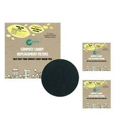 Compost Caddy Spare Filters-For Apple Ceramic Caddies (Pack of 6)