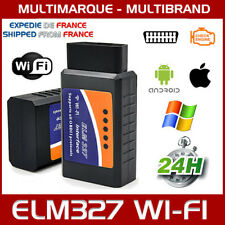 ELM327 WIFI OBD2 OBD - IPHONE ANDROID DIAGNOSTIQUE SCANNER ELM 327 MULTIMARQUES