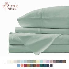 4Pc Sage 400Tc Bed Sheet Set Queen Cotton Bed Sheet Queen Extra Deep Pocket Sets