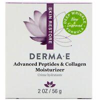 Derma E Advanced Peptides  Collagen Moisturizer 2 oz 56 g Cruelty-Free,