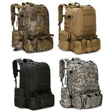 5.5L Neutral Adjustable Military Tactic Backpack Rucksacks Hiking Travel BL US
