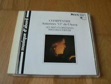 """Charpentier : Antiennes """"O"""" de l'Avent - Christie, Arts Florissants - CD HM"""