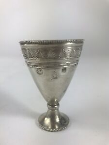 Art Deco Sterling Silver Egg Cup 1900