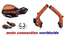Acerbis X-Grip marco guardias & Uniko Protectores Negro Naranja KTM SX125 SX150 2018
