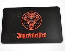 Jägermeister Jeton Chip Token mit Hirsch Rudi Logo - schwarz orange