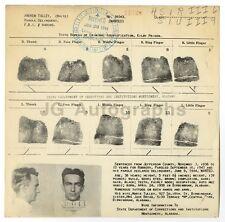 Wanted Notice - Andrew Tulley/Parole Violator - Alabama, 1944