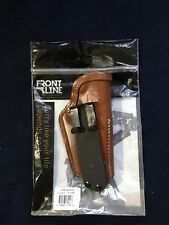Front Line FL3314-BR Tuckable Inside Waistband Leather Holster Colt Gov 1911 5""