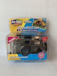 Snap Sights Sport Utility Cam Underwater Camera Pre-Loaded Reusable NIB