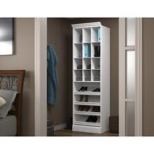 """Versatile by Bestar 25"""" Cubby Storage unit in White"""