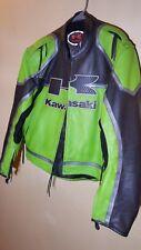 Kawasaki Genuine Leather Motorcycle Jacket (XL)