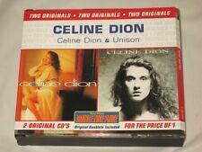 CELINE DION - 2 CD SET - DOUBLE NICE PRICE - FAT BOX