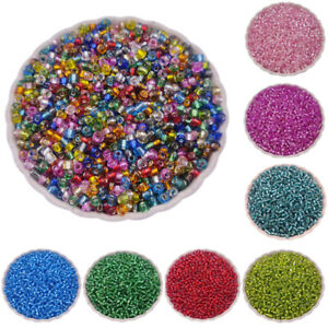 100/200Pcs Silver Plated Loose Beads DIY For Jewelry Making Pendant