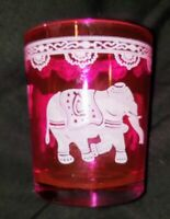 Save $4 Sale More Colors FUCHSIA HOT PINK BEADED VOTIVE CANDLE HOLDER