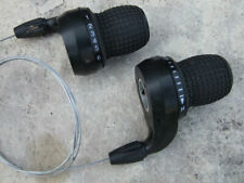 Bicycle Grip Twist Shifters, 3 and 7 Speeds, Used