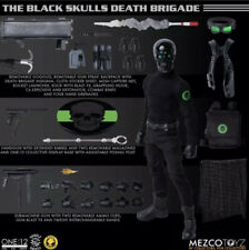 Mezco Toyz One:12 Collective Black Skulls Death Brigade LIMITED EDITION