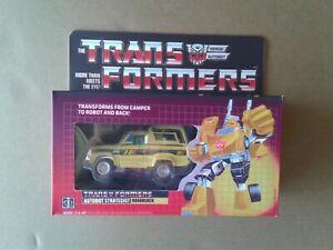 Transformers G1 Diaclone Yellow Trailbreaker version Custom Box!!!