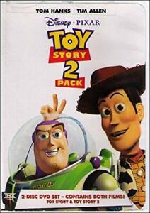 Brand New Disney DVD Toy Story & Toy Story 2 (2 Pack) 2000 Tom Hanks