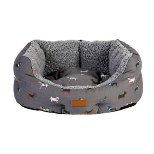 """FatFace Marching Dogs Slumber Dog Bed 24"""""""