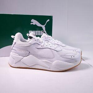 Size 8.5 Men's / Women's 10 PUMA RS-X Blanco Sneakers 374047-01 White/Gum