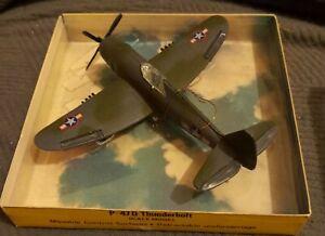 VINTAGE SCHUCO/LINTOY FIGHTERS P-47D THUNDERBOLT