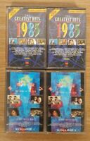 The Greatest Hits 1985 & 1987 Cassette Tapes