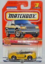 MATCHBOX TREASURE HUNT MB 2000 LOGO MUSTANG CONVERTIBLE #2